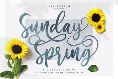 Sunday Spring