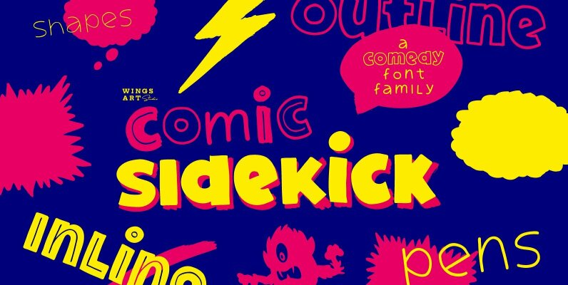 Comic Sidekick