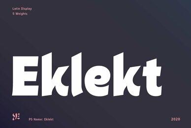 Eklekt
