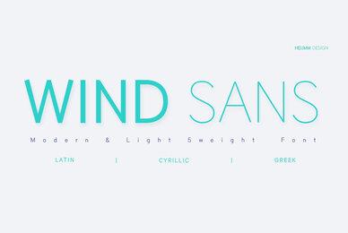 HU Wind Sans