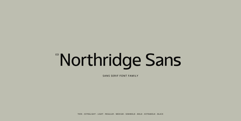 ED Northridge Sans