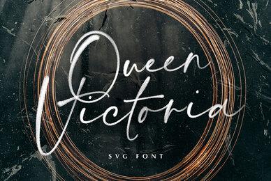 Queen Victoria SVG