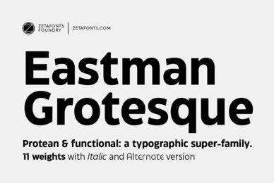 Eastman Grotesque