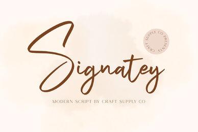 Signatey