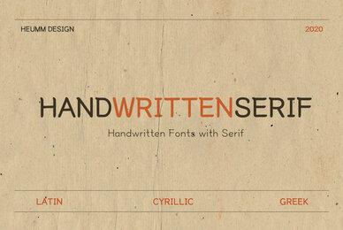 HU Hand Serif