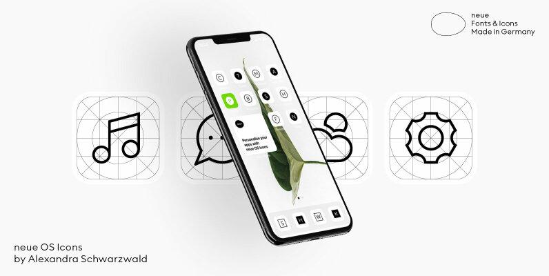 neue OS Icons
