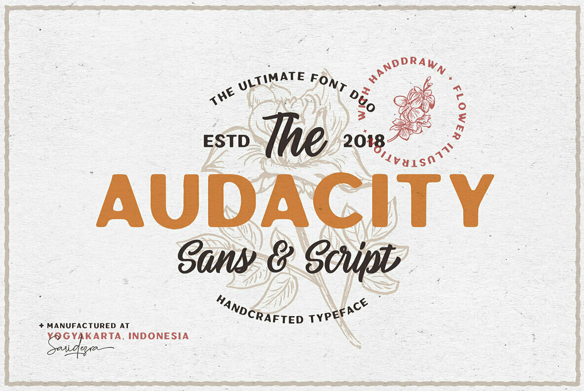 Audacity Font Duo