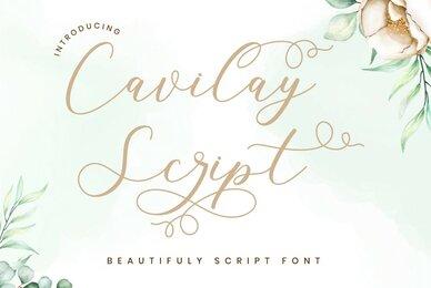 Cavilay Script