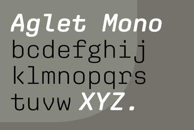 Aglet Mono