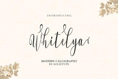Whitelya Script