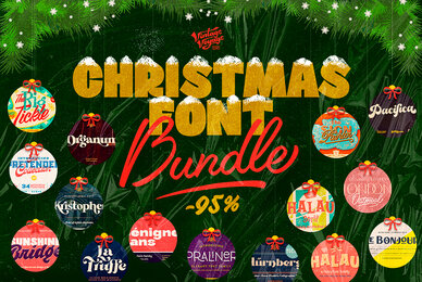 VVS Christmas Font Bundle