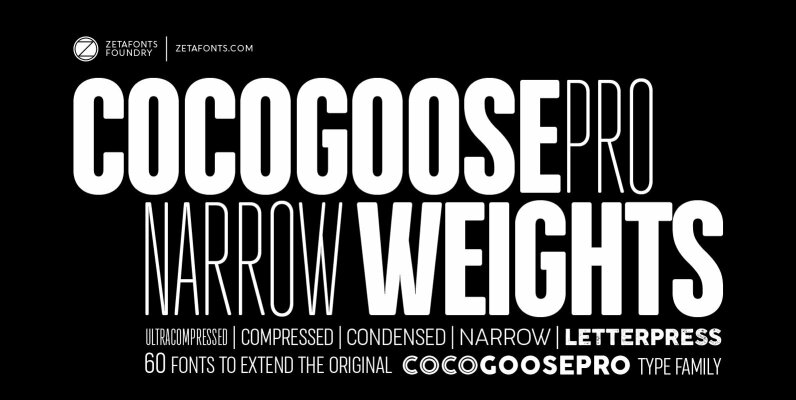 Cocogoose Pro Narrow Weights