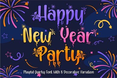 Happy New Year Party