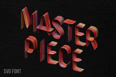 Masterpiece SVG Font