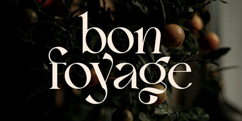 Bon Foyage