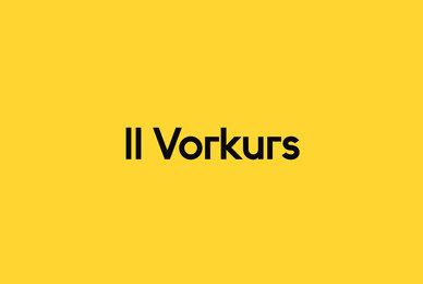 II Vorkurs