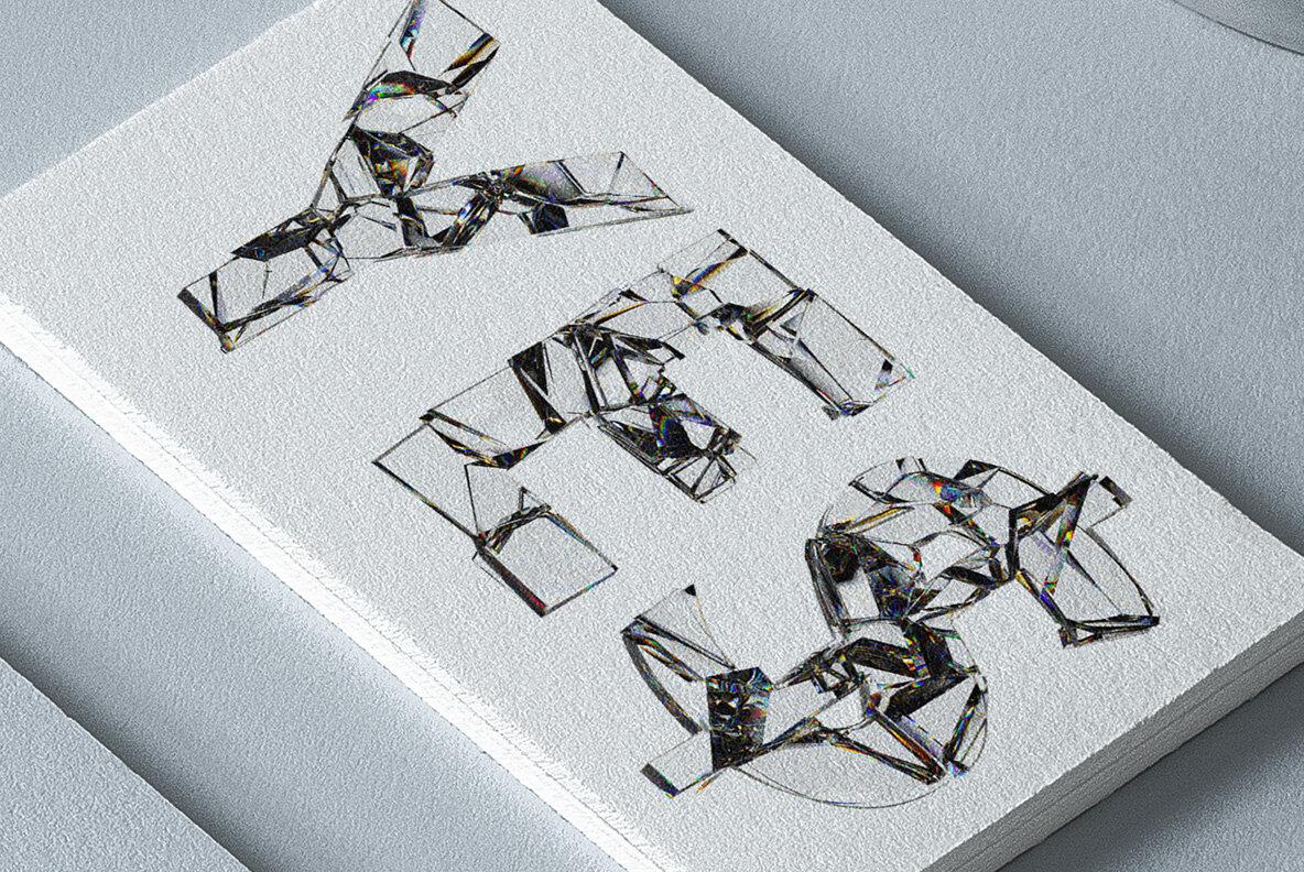 Fragility SVG Font