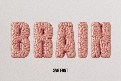 Brain SVG Font