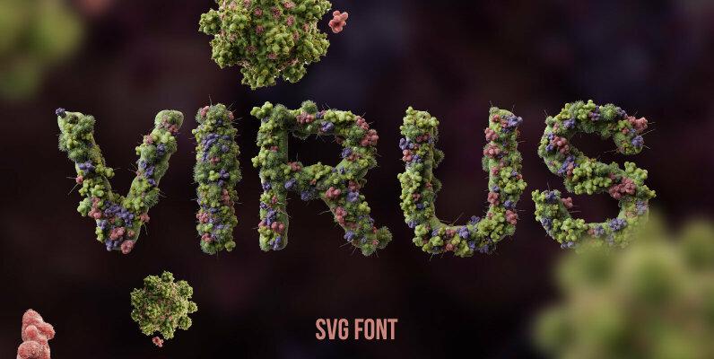 Virus SVG Font
