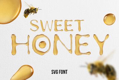 Sweet Honey SVG Font