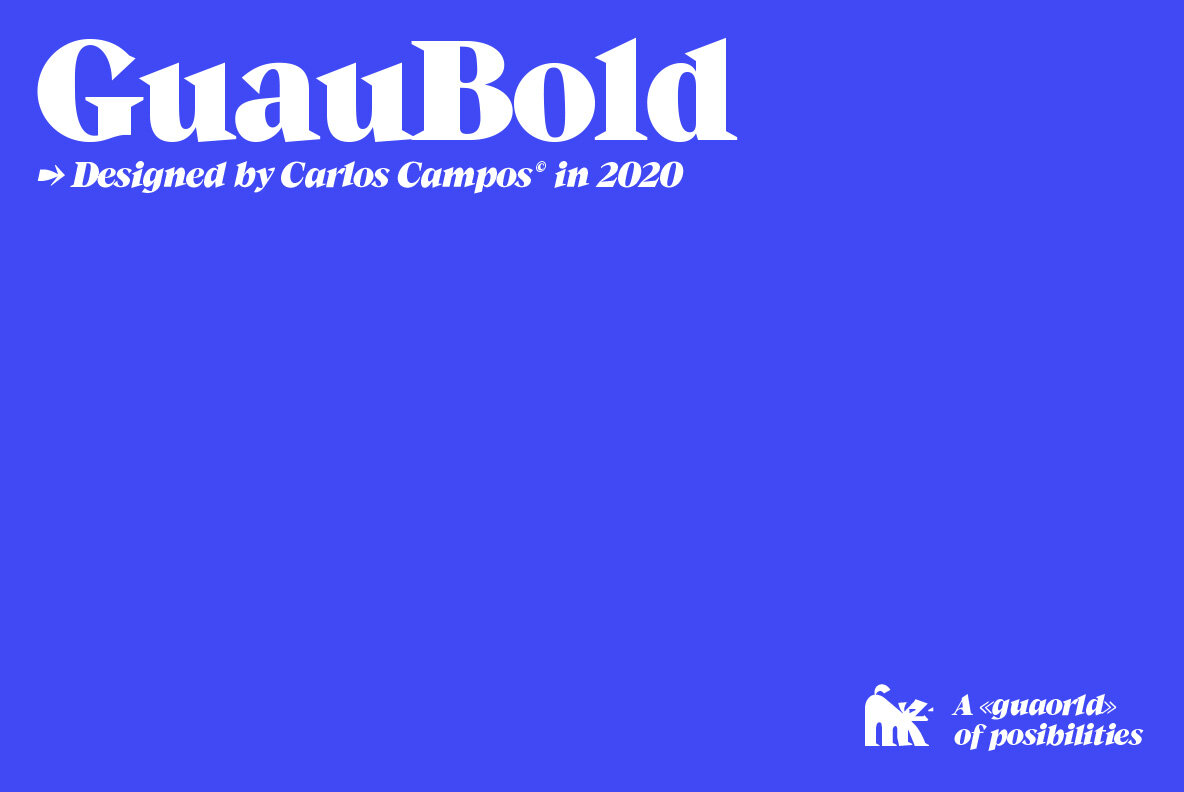 GuauBold