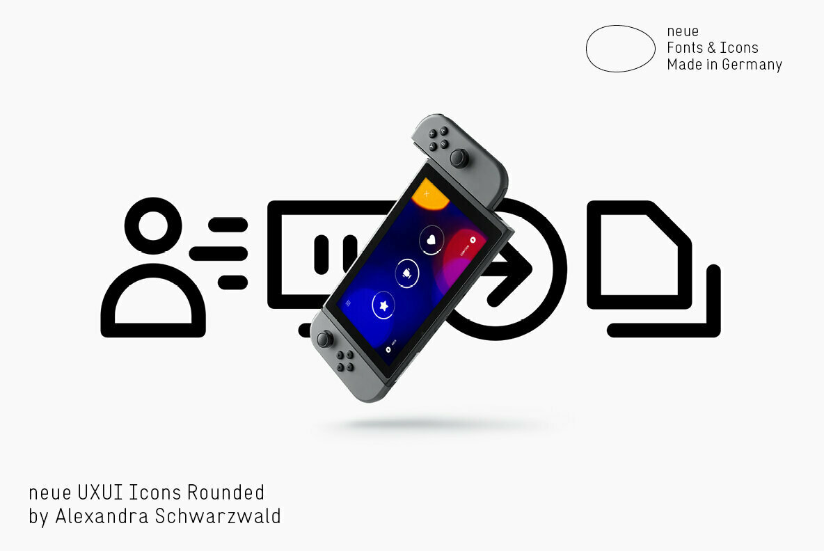 neue UXUI Icons Rounded
