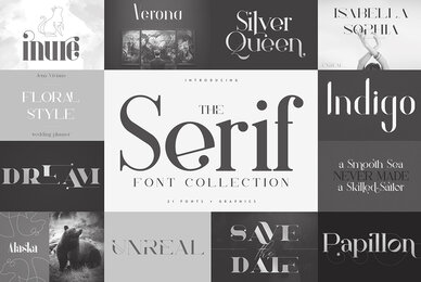 The Serif Font Collection