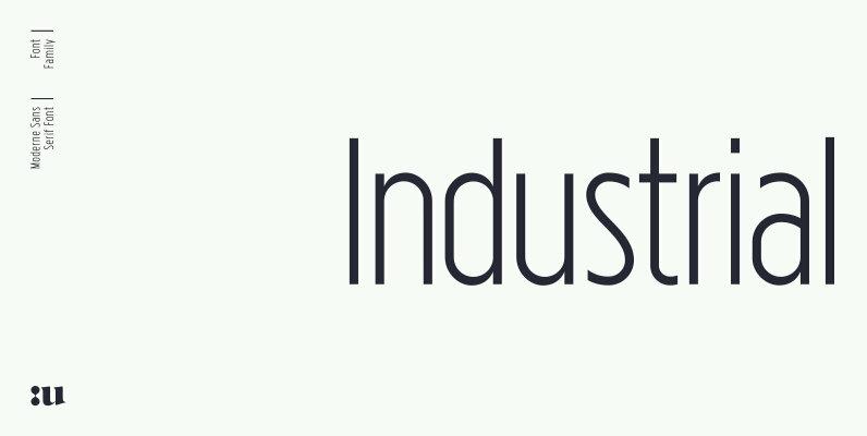 Industrial Sans