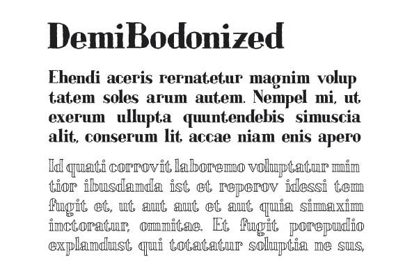 Bodoniez