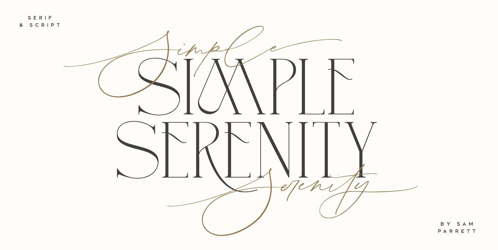 Simple Serenity