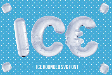 Ice Rounded SVG Font