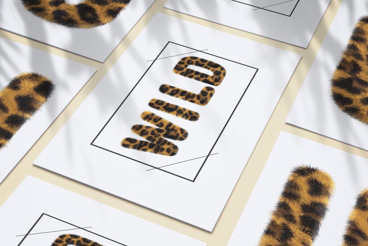 Leopard SVG Font