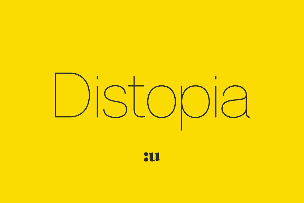 Distopia Sans