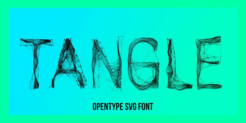 Tangle SVG Font