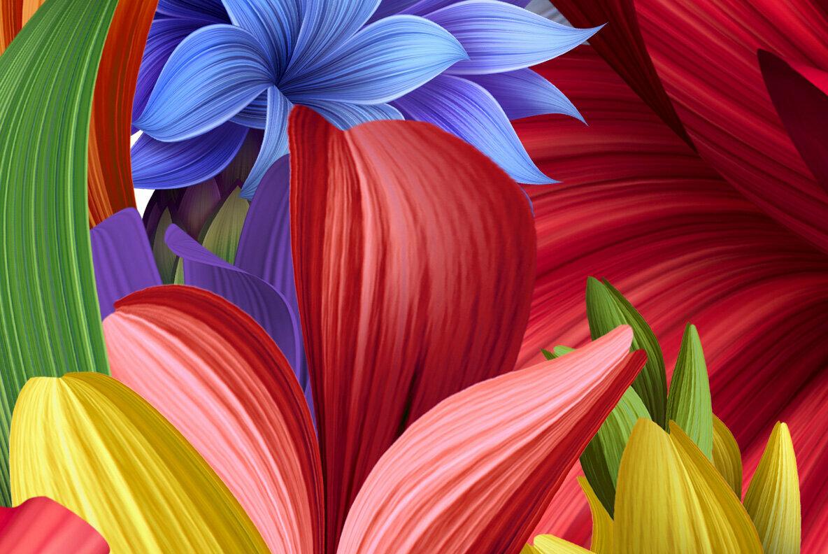 Flowers Wacomka SVG Font