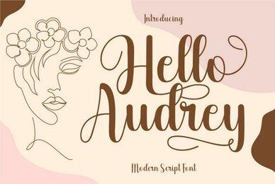 Hello Audrey