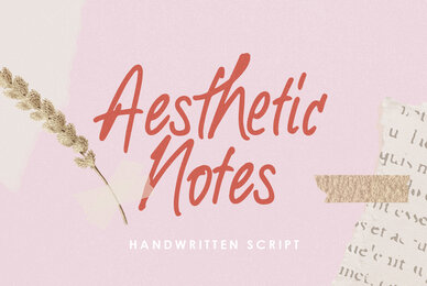 Aesthetic Notes