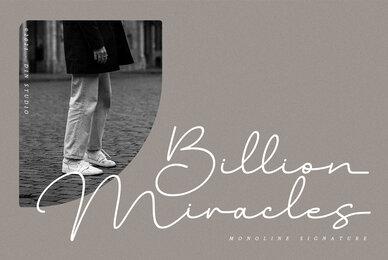 Billion Miracles