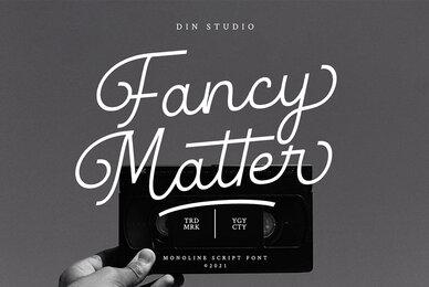 Fancy Matter