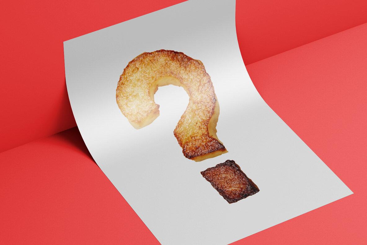 Fried Potatoes SVG Font
