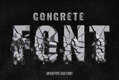 FOT Concrete SVG Font