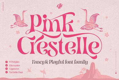 Pink Crestelle