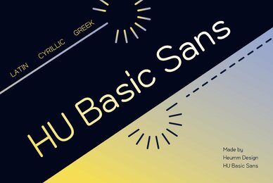 HU Basic Sans