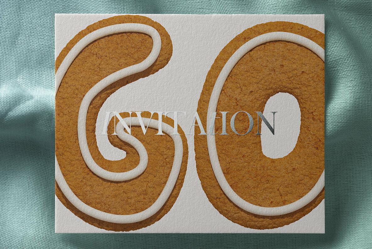 Christmas Cookies SVG Font