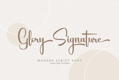 Glory Signature