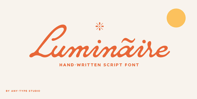 Luminaire Script