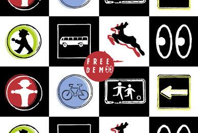 GDR Traffic Symbols