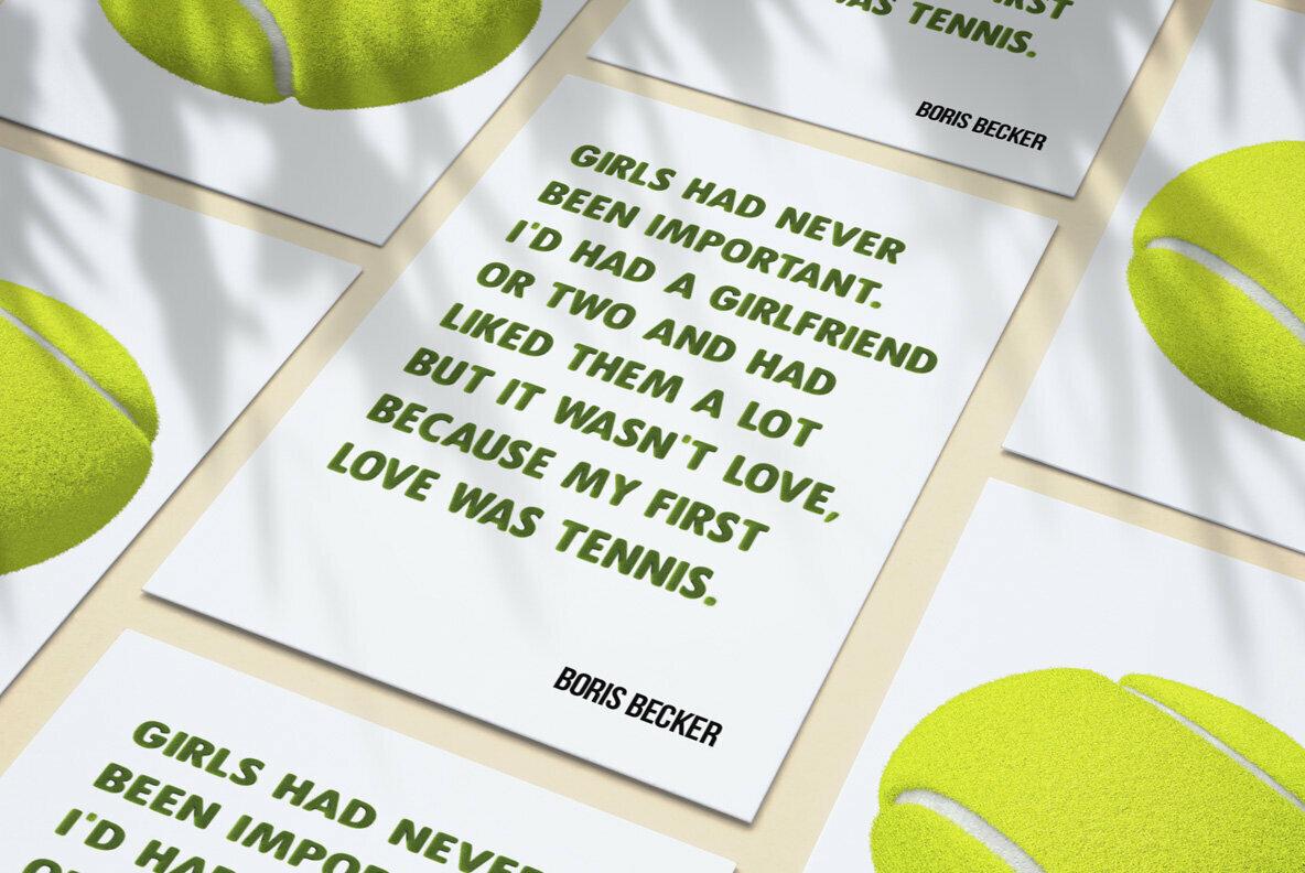 Tennis Grass SVG Font