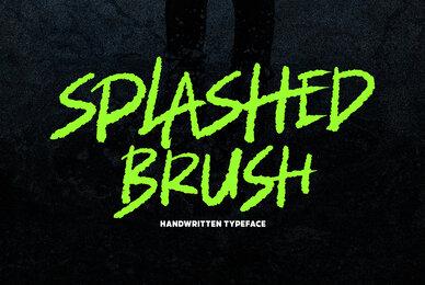 Splashed