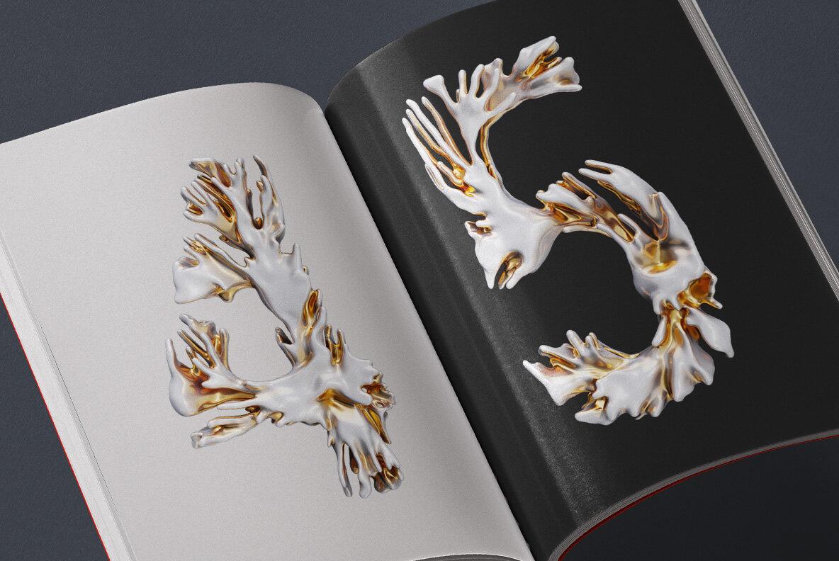 Modern Coral SVG Font